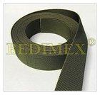 popruh PES-367854-20 mm, khaki 1244-AČR, I.jakost, doprodej