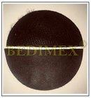 koženka 630 gr/m2 tmavě hnědá, š.140 cm, výprodej