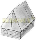 stan na podsadu 200x200/140 cm-režný