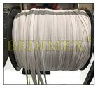 pruženka prádlová plochá (rašlová) 05 mm bílá - cívka 500m, výprodej