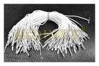 pruženka kulatá pr.1 mm bílá, klobouková, zakončená, 20 cm