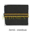 zdrh-pás WS 10 černý+oranž.proužek-S60