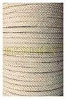 šňůra bavlněná-pletená dutinka-pr.5 mm-barva přírodní režná