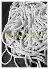 šňůrka elastická pletená PES-pr.3 mm bílá - cívka 150 m