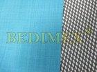 Softshell-290g-fleece zatřený membránou-tyrkysový-š.150cm