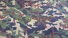 Softshell-308g-fleece zatřený membránou-maskáč-š.150cm