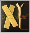 suchý zip 20 mm komplet (pár), délka 20 cm, béžový 271a