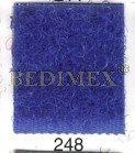 suchý zip 50 mm háček modrý-248