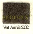 suchý zip 100 mm háček khaki-5002