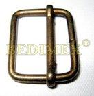 průvlečná spona kovová 25 mm (25x20x3,9)-staromosaz